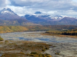 Matanuska River Fall low Water Levels