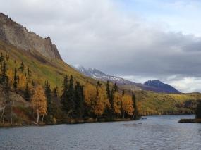 Matanuska River in October