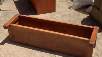 """Before"" Planter Box"