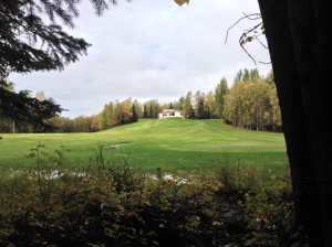 Golf Course at Russian Jack Park, Surrounded by Trails