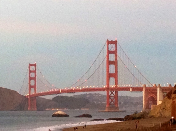 Baker Beach Views at Sunset