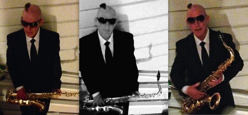 Sax Man James Almost Gleason