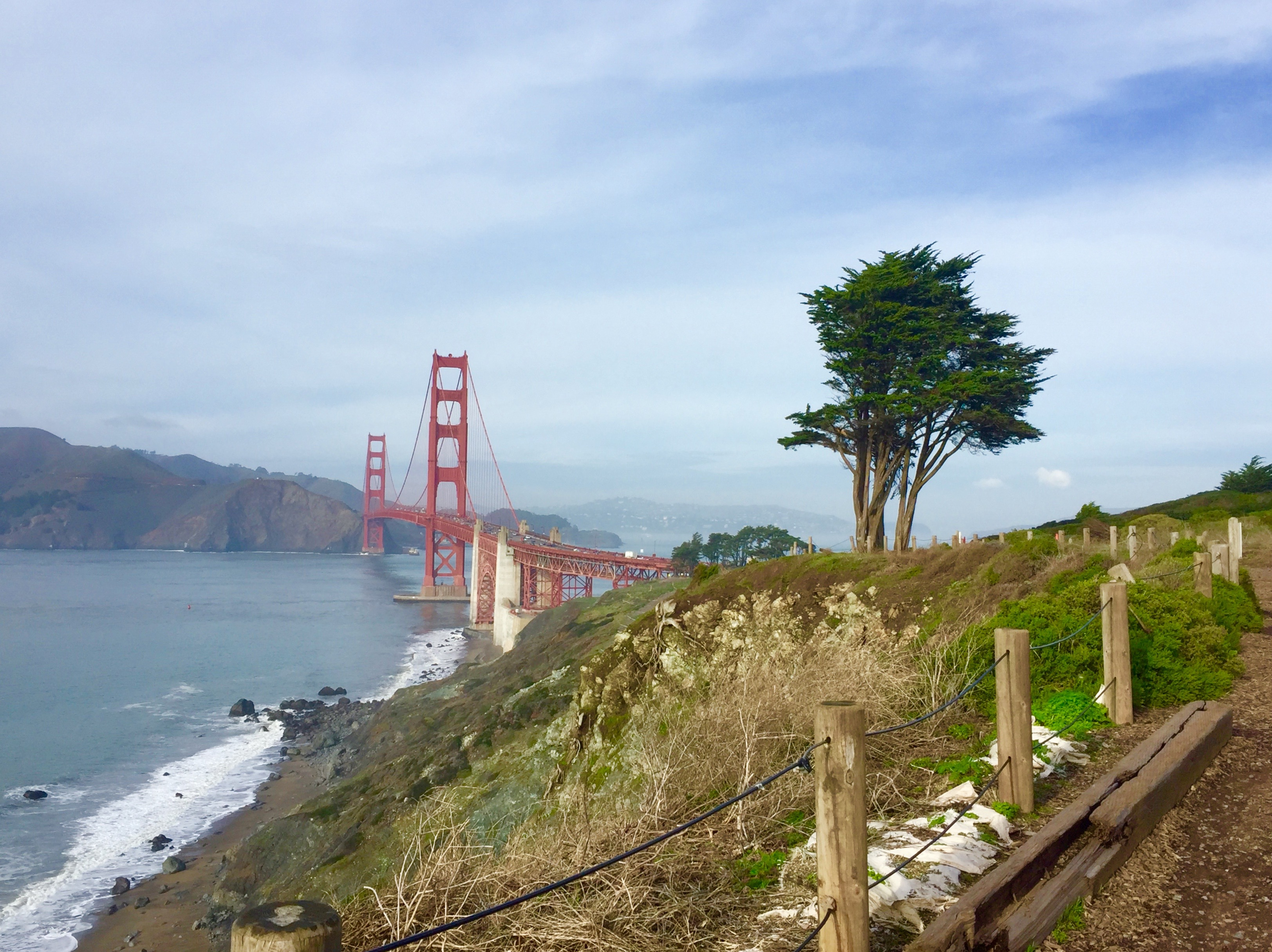 From The New Trail Above The Golden Gate Bridge