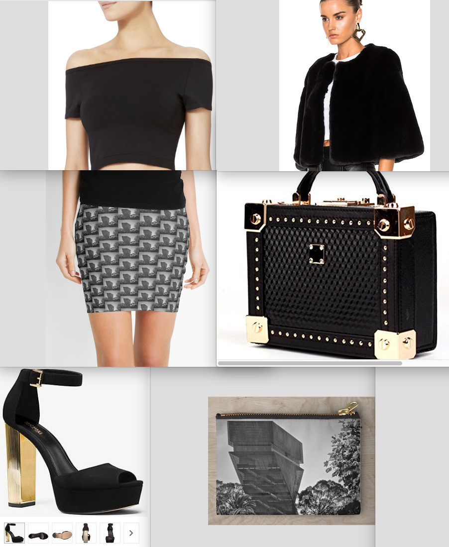 Lynda Anne Art Recommendations for De Young Museum Mini Skirt