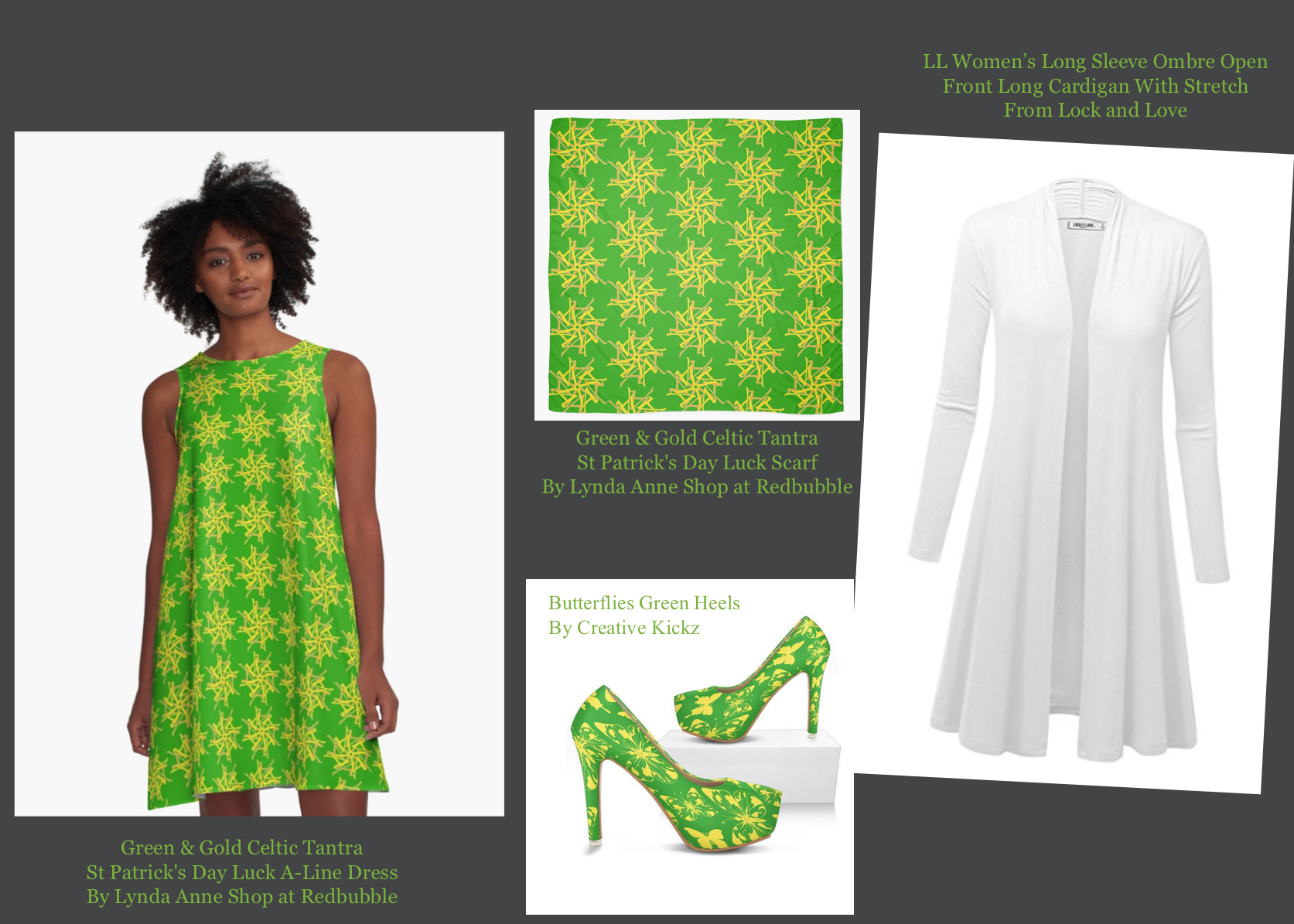Lynda Anne's Recommendations For Men's and Women's St. Patrick's Day Outfits